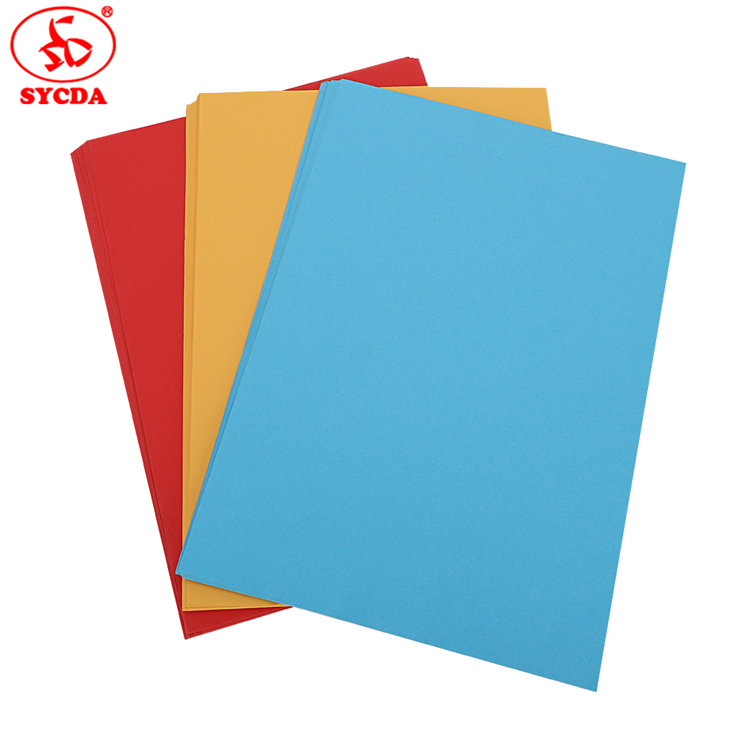 Factory Supplier coloful woodfree paper 120gsm Different Color Paper