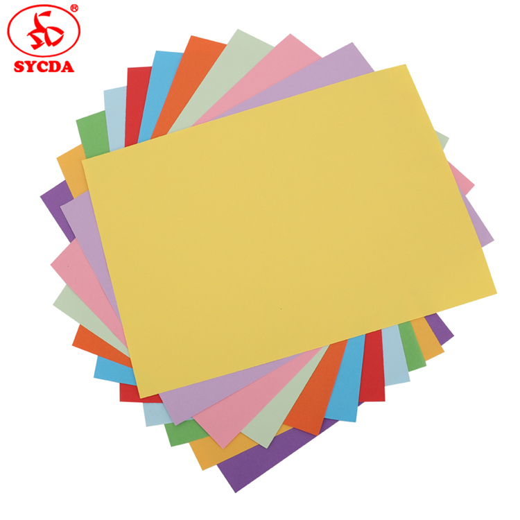 wrapping box kraft paper coloful offset master paper With Good Service