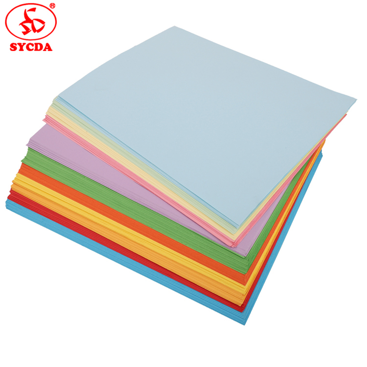 A4 size Woodfree paper coloful offset paper 70x100 For Distributor