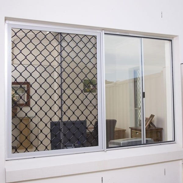 High Quality Product With Aluminum Material With Screen German Brand Accessories Aluminum Sliding Window