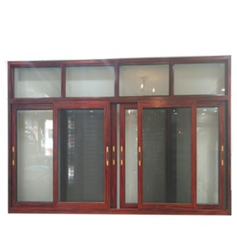 1500*1000 mm Aluminum Sliding GlassWindow with Mosquito Screen