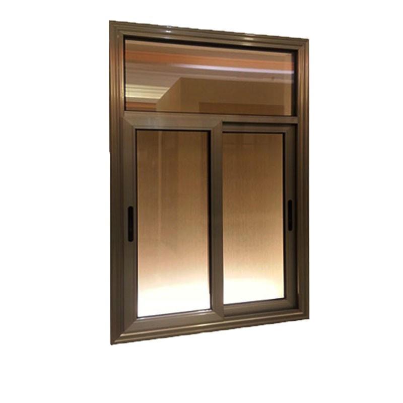 1500*1000 mm Office Sliding window Glass Aluminum Sliding Window