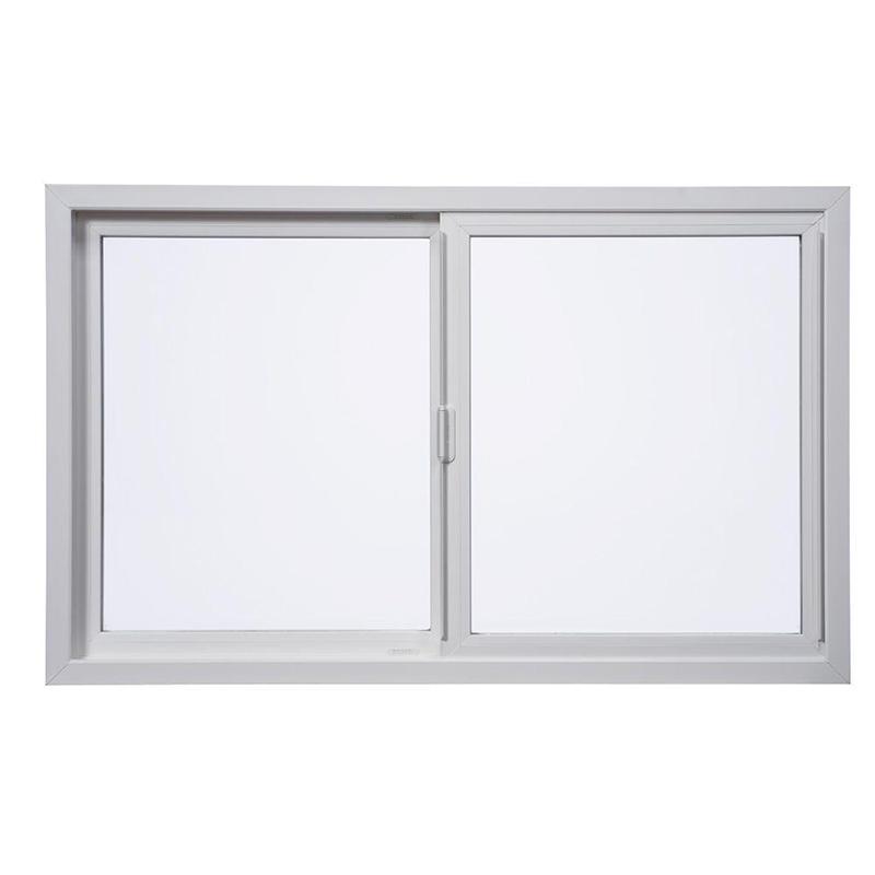 Black Color Aluminum Frame Single Glass High Quality Aluminum Sliding Door Manufacturer