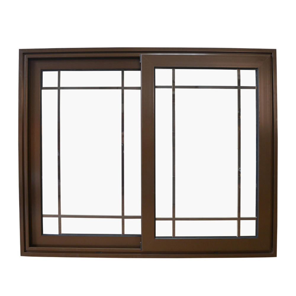 1200*1000 mm New design Picture Cheap aluminum Double Tempered glass Sliding Window