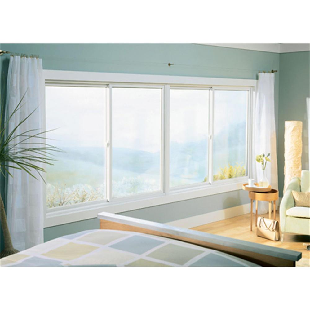 Powder Coating5mm Aluminum Framed Single Glazed Sliding Window