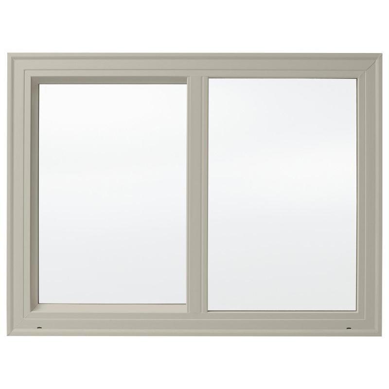 5mm+9Amm+5mm Double Glass Aluminum Frame Powder Coating Factory Price Aluminum Sliding Window