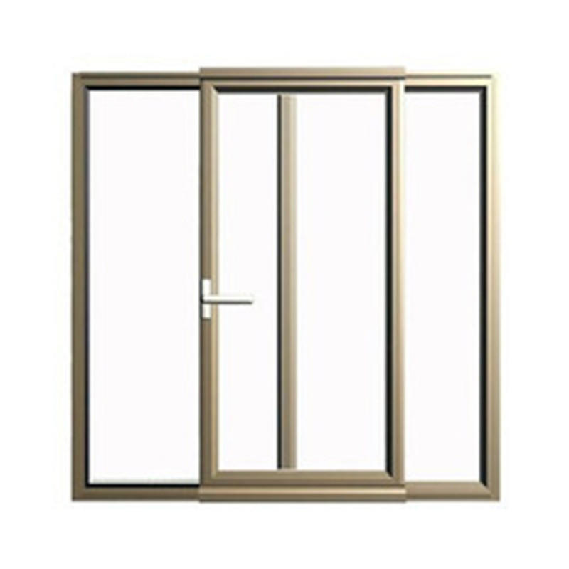 White 6mm Single Tempered Glass New Style Horizontal Thermal Aluminum Sliding Window