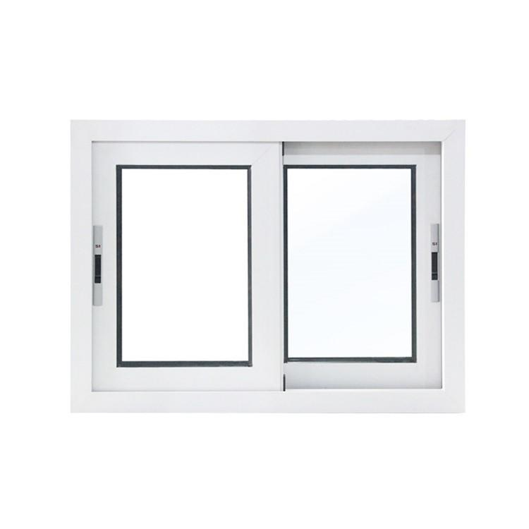 High Quality Factory Price Sound Insulation Double Glass Aluminum Frame Powder Coating Sliding Window
