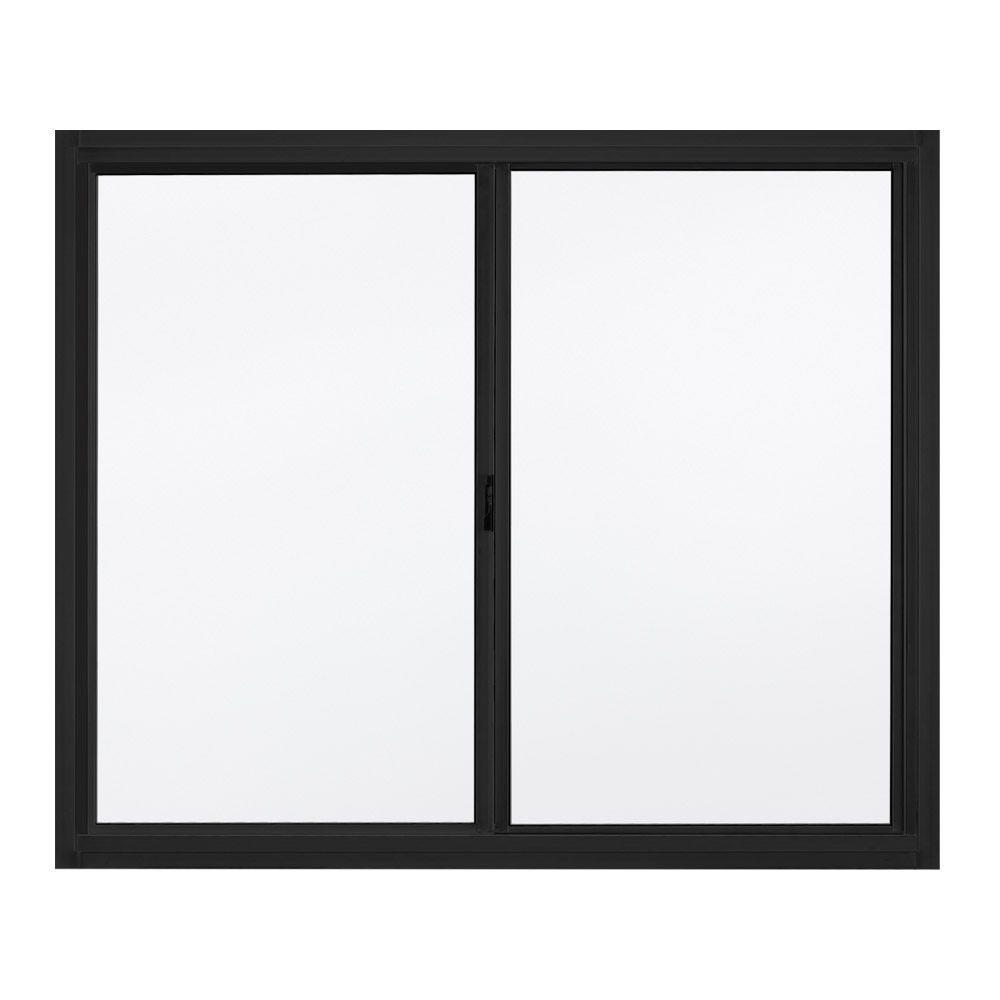 Thermal Broken Aluminum Frame Material Clear Tempered Glass Ready To Ship Aluminum Sliding Window