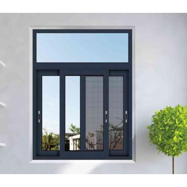 High Quantity Aluminum Tempered Glass Sliding Window Price Philippines withMosquito Screen