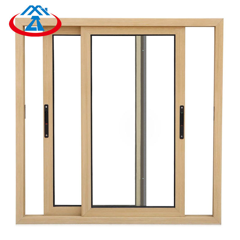 Good sealing sliding window aluminum tempered glass with screen