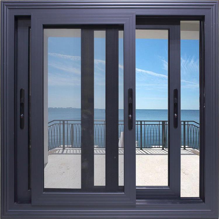 Modern Beautiful Aluminum Sliding Window Horizontal Window