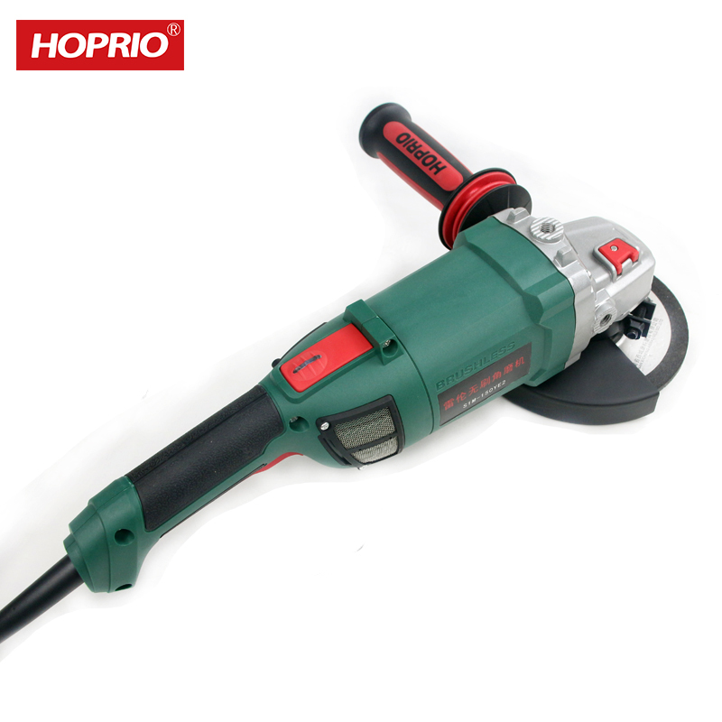 Hoprio hot sale S1M-150YE2 2000W angle grinder power tools manufacturers