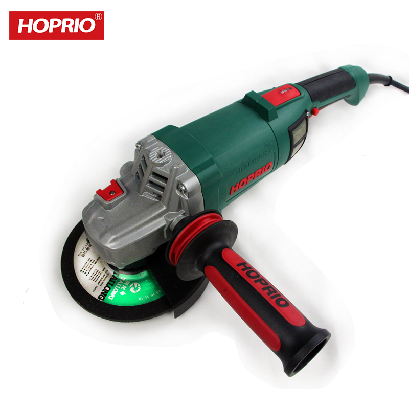 Hoprio 220V 2000W big power brushless power toolsangle grinder sale