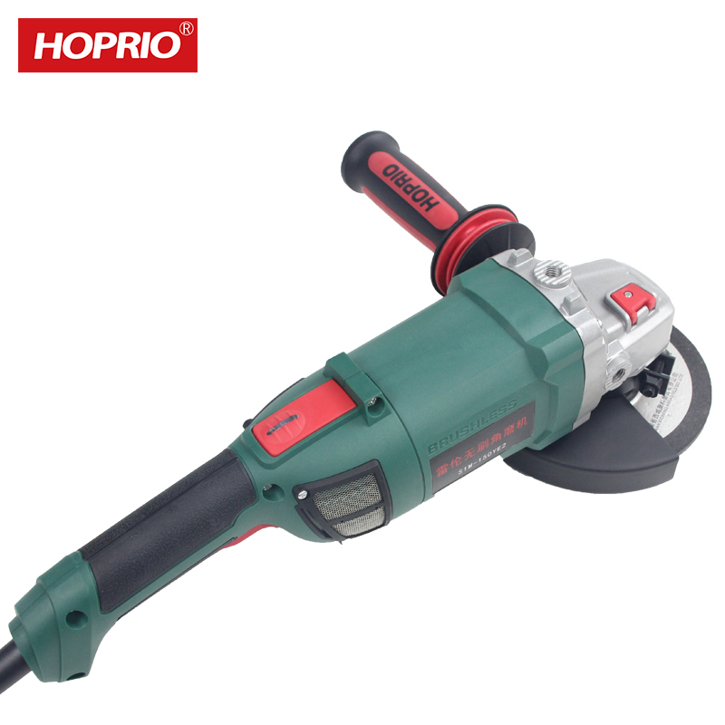 150mmHOPRIO S1M-150YE3 2000W6 Inch Corded BrushlessElectrical Power Tools Angle Grinder