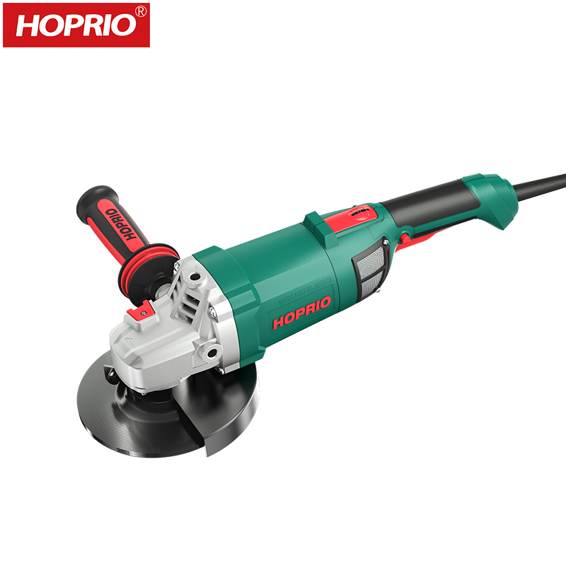 Heavy Duty High Quality 150MM AC Brushless Angle Grinder S1M-150YE3 Industrial Cutter Grinder Machine