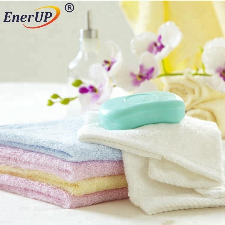 economical cotton white terry spa facial dobby towels hand towel