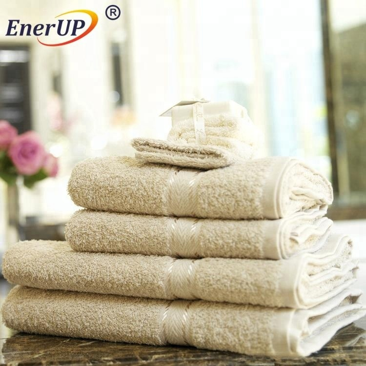 jacquard plain hotel bathroom bidet towel