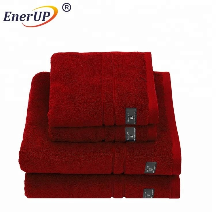 100% cotton 20x40 soft bath sport foot towel
