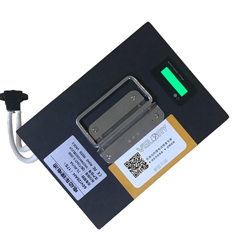 Maintenance free compact 12v 100ah li-ion lithium battery