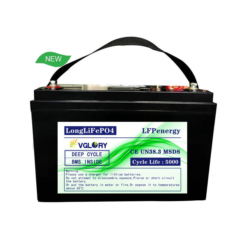 Low competitive price rechargeable 12v 100ah marine lithium battery