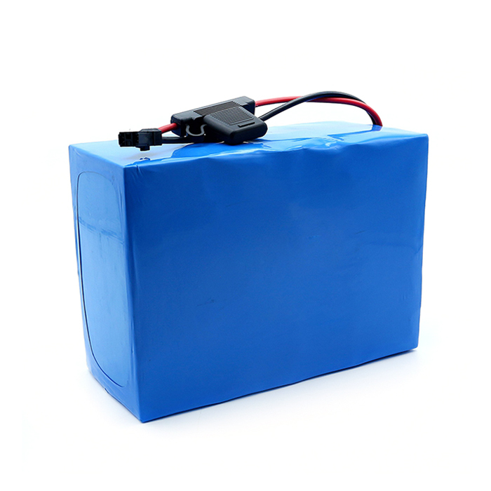 Intelligent Bms 60v 30ah 40ah 50ah Lithium For Electric Scooter Wheelchair Hoverboard Battery