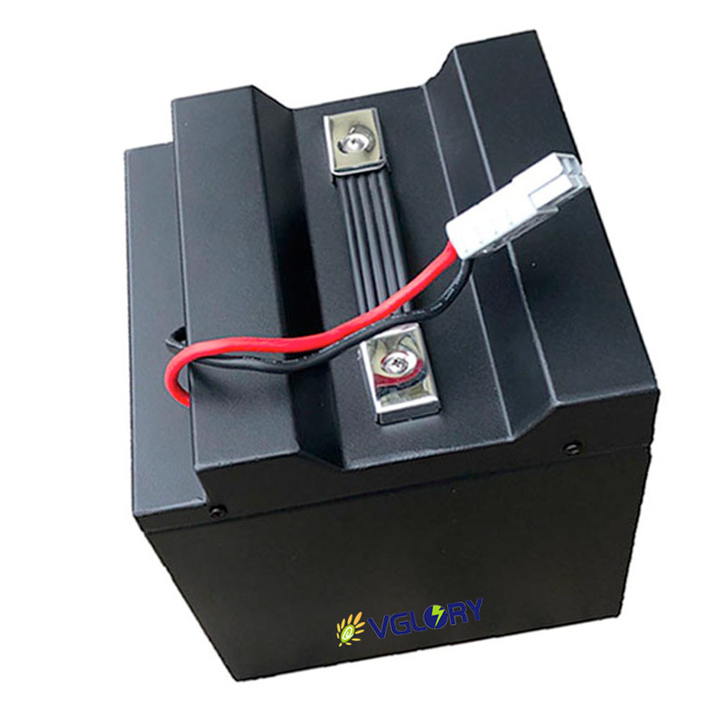 Strong discharge capability high capacity lithium battery pack 60v 12ah