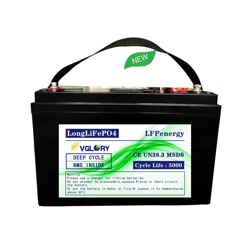 Long cycle life 12v 100ah the rechargeable shenzhen lithium battery