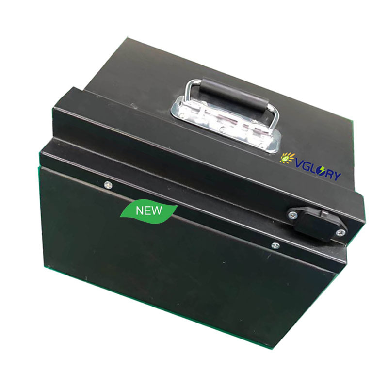 Run well under different environment lithium deep cycle battery 60v25ah