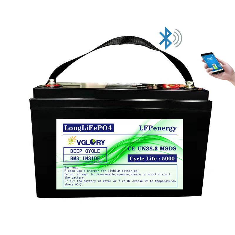 Rechargeable high discharge rate rc deep cycle lithium ion battery