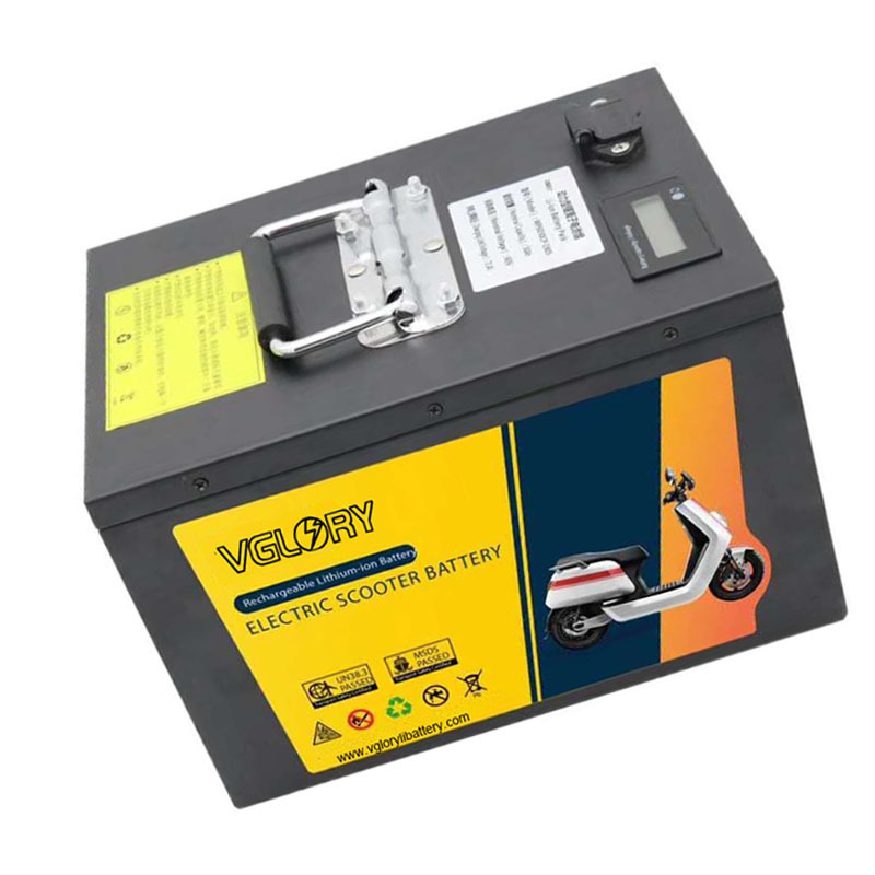 China Factory Extremely safe 18650 lithium rechargeable battery 60v 40ah