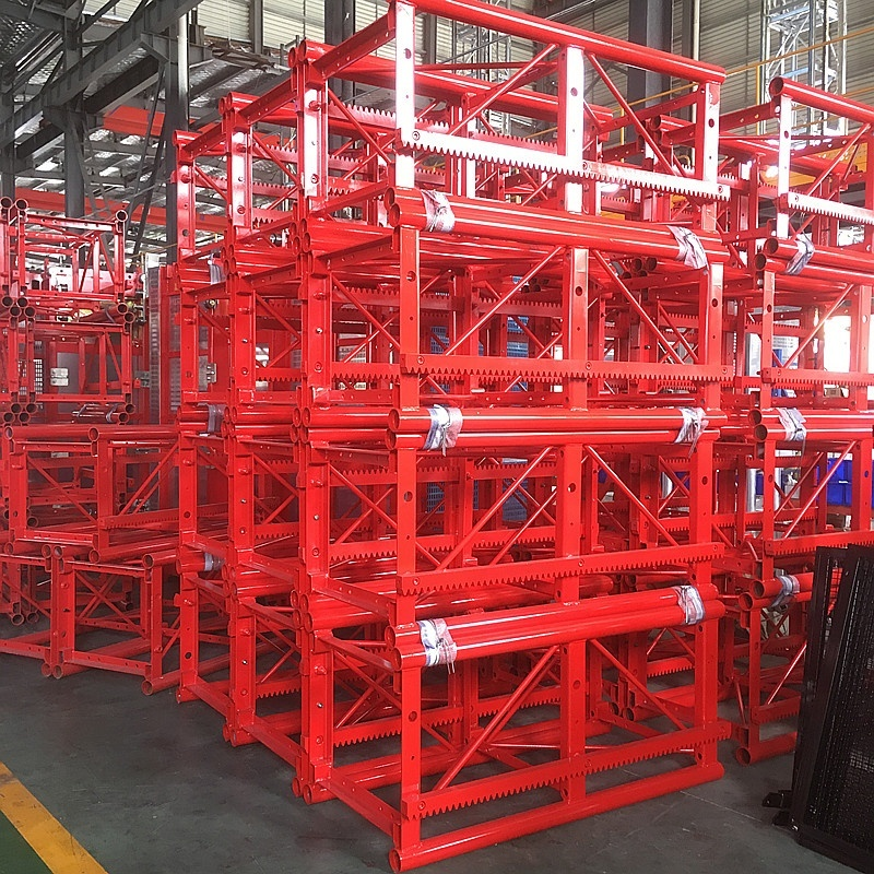 SC200TD Single Cage Construction Hoist Mast Section