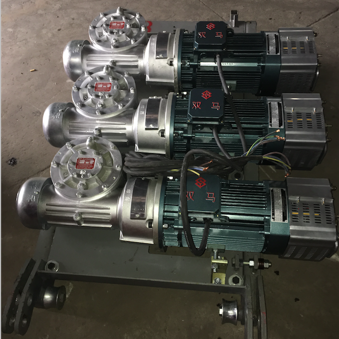 YZZ132M-4 industrial AC three phase asynchronous motor 11KW