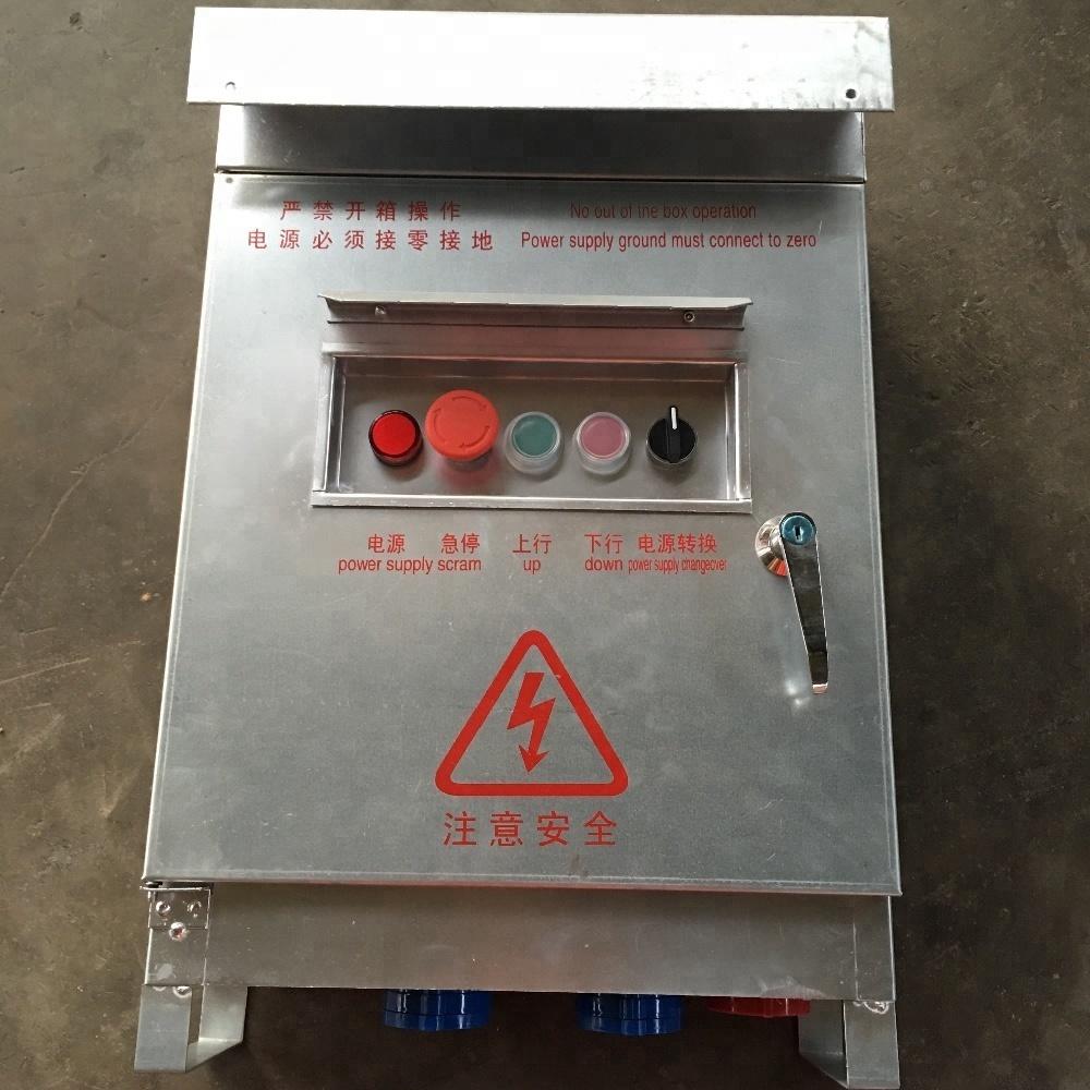 Electric Control Panel For Suspended platform/gondola/cradle