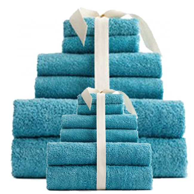 Customized high quality cotton towel covers