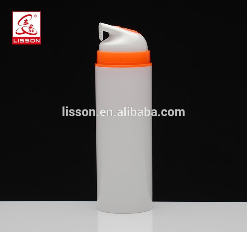 wholesale cream/ lotion airless cosmetic pump container sets