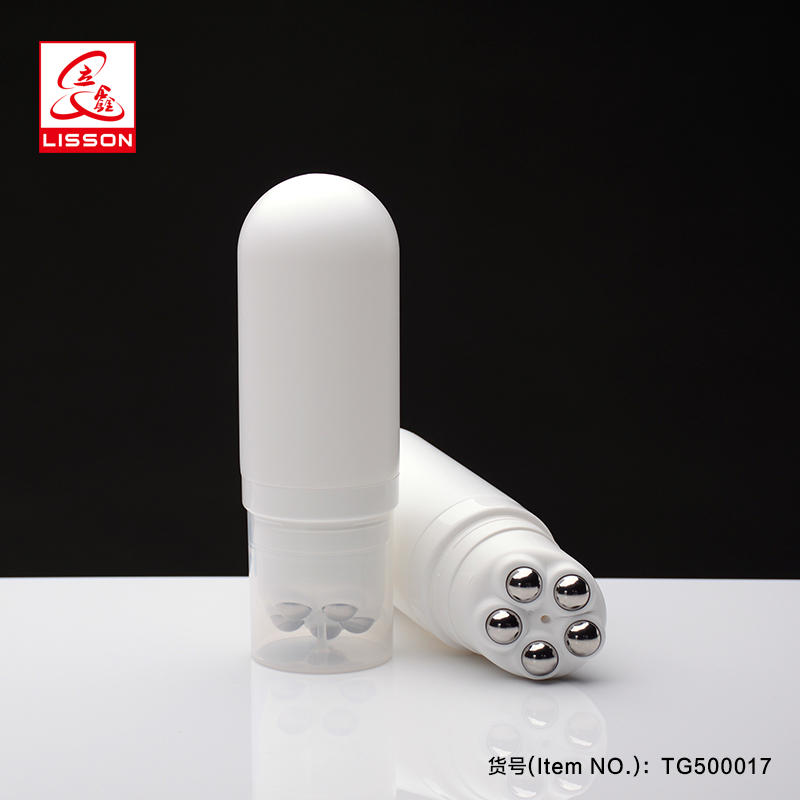 150ml Soft Ball Roller Body Massage Cosmetic Cream Bottle And Jar Packaging