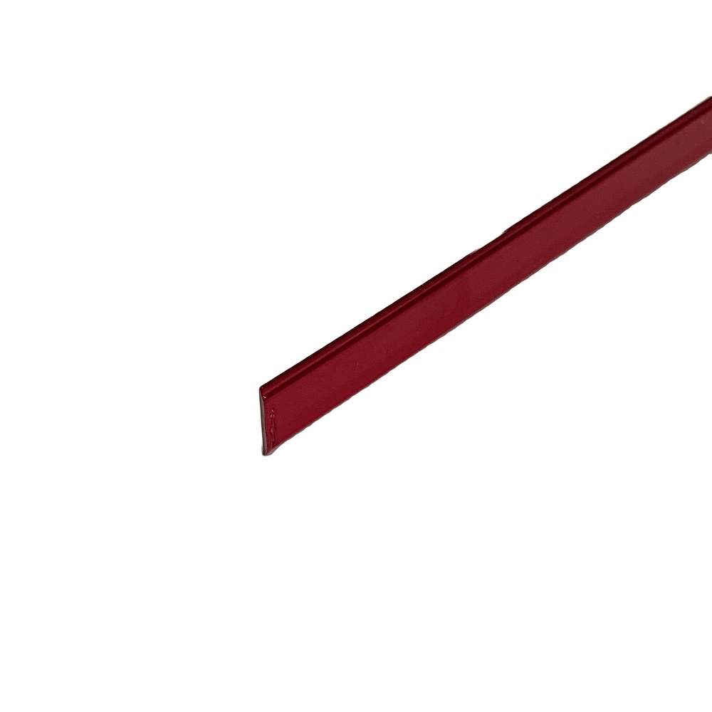 Plastic Industry Red translucent flake PC material