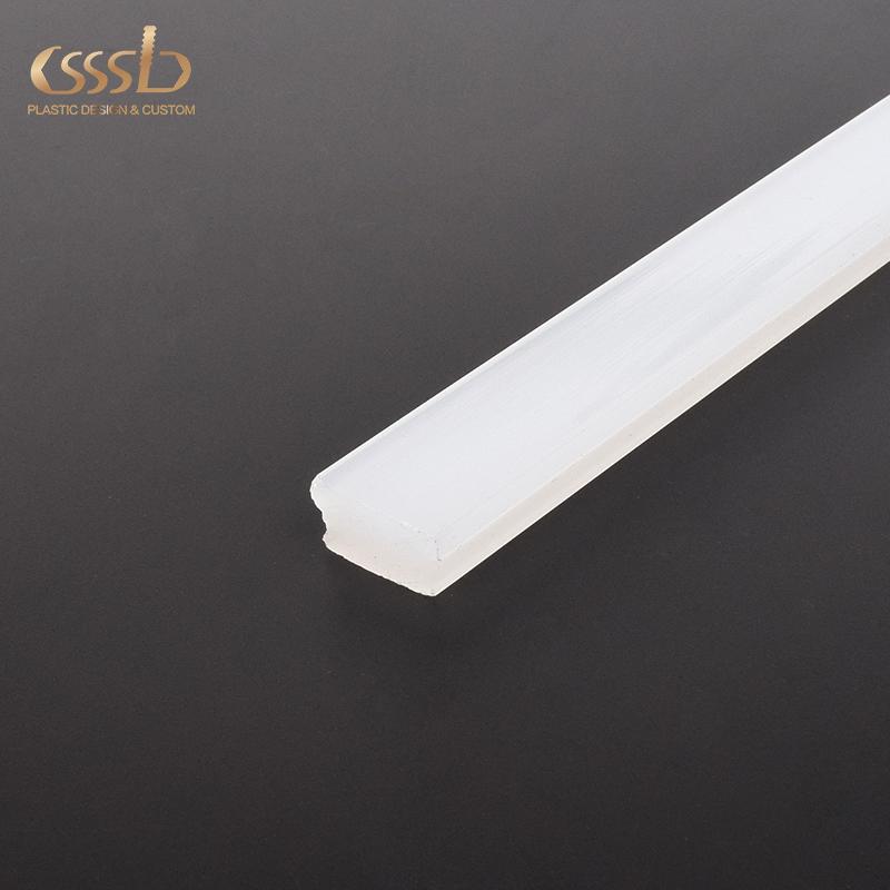 White narrow beam angle acrylic pmma linear light lens