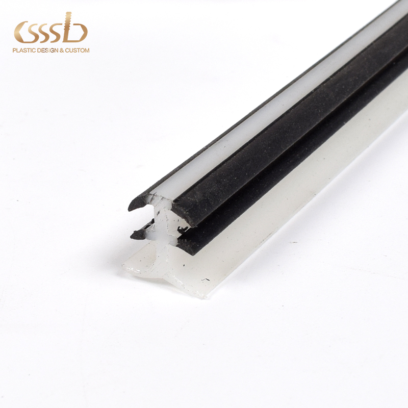 PPhard and soft extrusion insert strip for the slot of panelfactory custom sizes