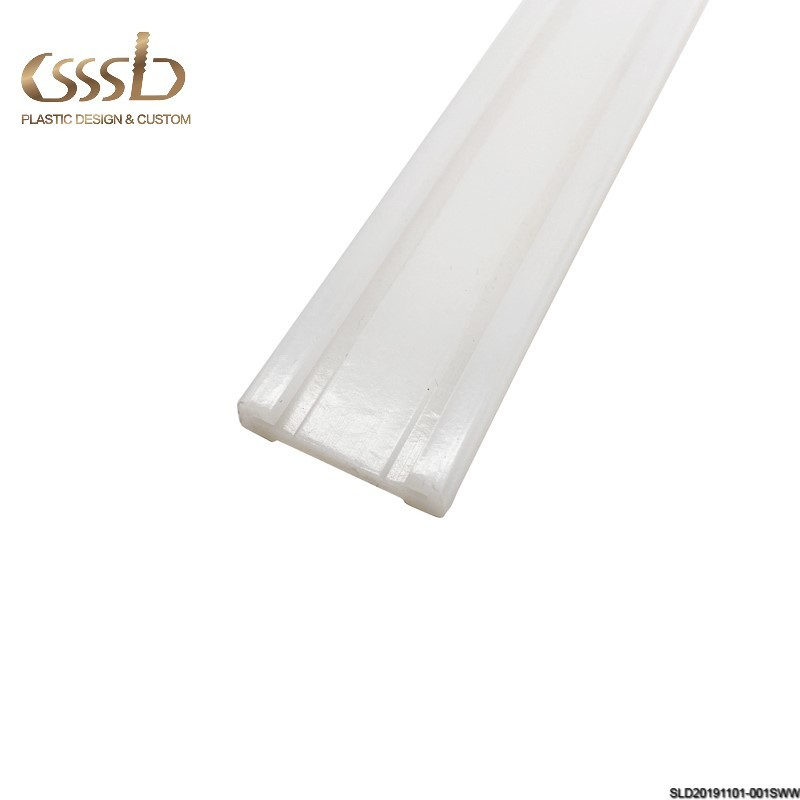 waterproof plastic Anti static UHMWPE polyethylene conveyor roller chain guides track
