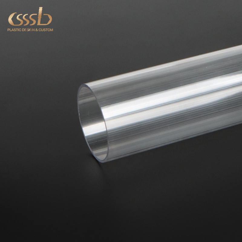 "3"" diameter clear plastic pipe"