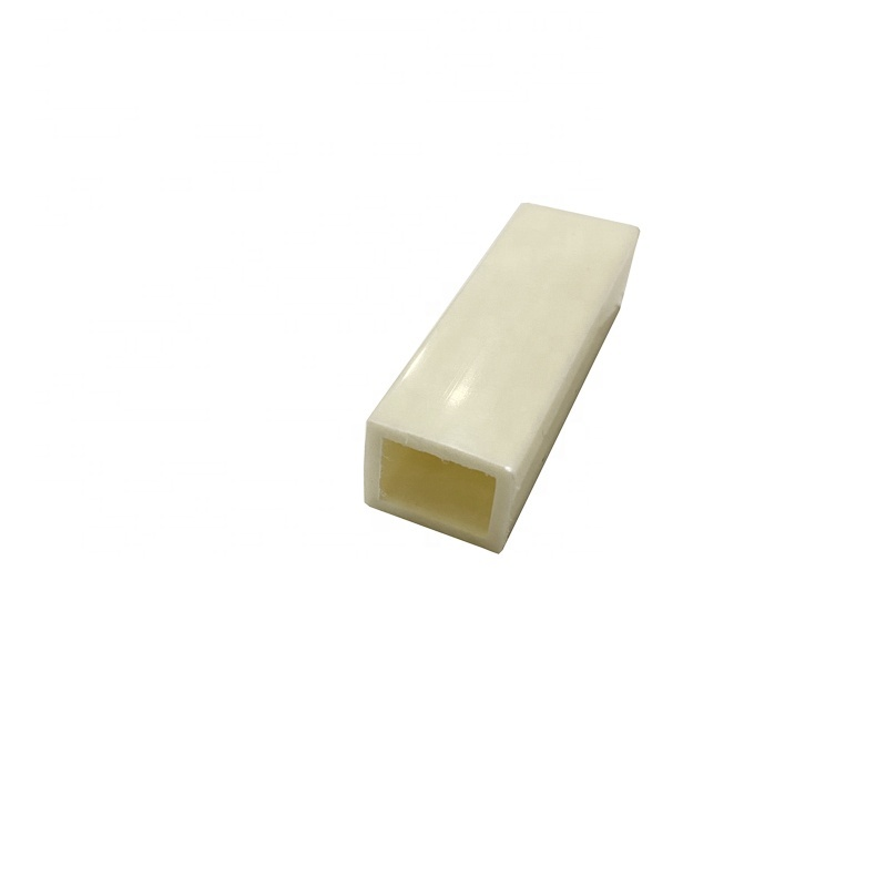 Customized Plastic extrusion products PE Conveying square tube