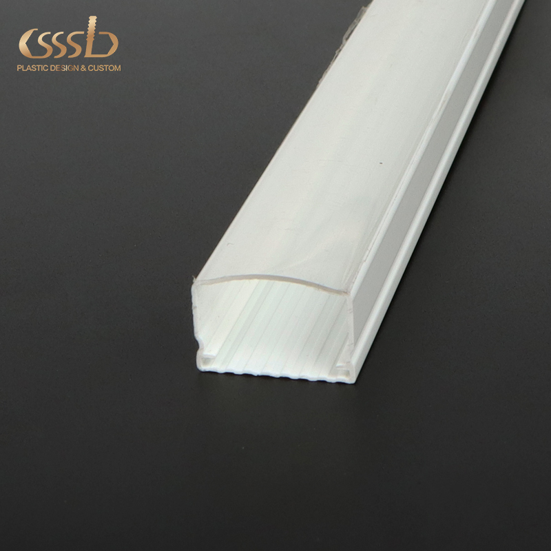 PC LED Strip Light Cover Customized Linear Slot Diffuser