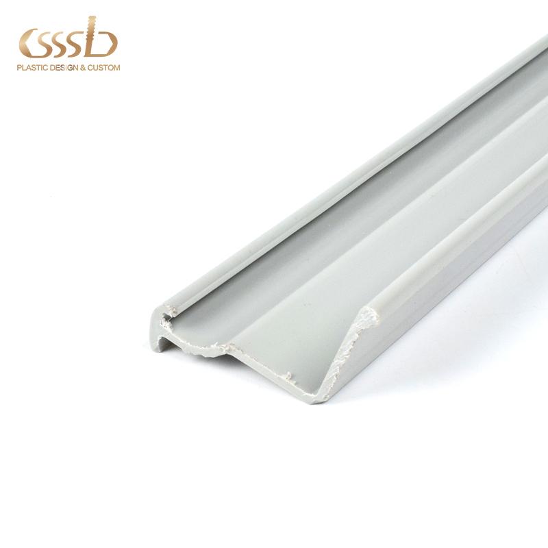 Plastic PP extrusion edge cover