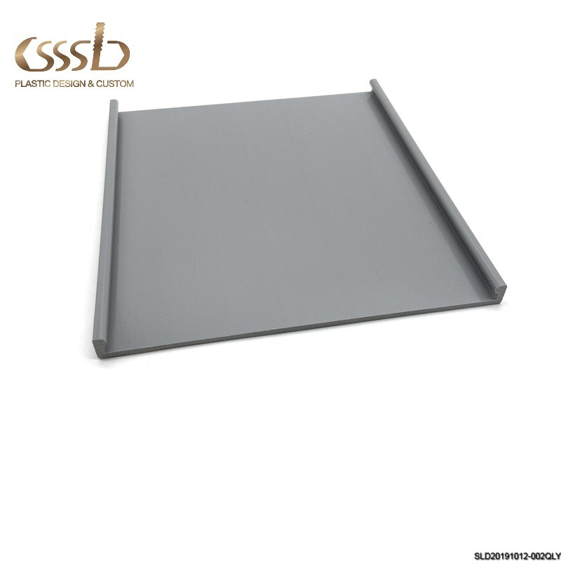 DISPLAY COUNTER PROFILE SHOPPING MALL COSMETIC TRAY BASE FLAT EXTRUDED PVC
