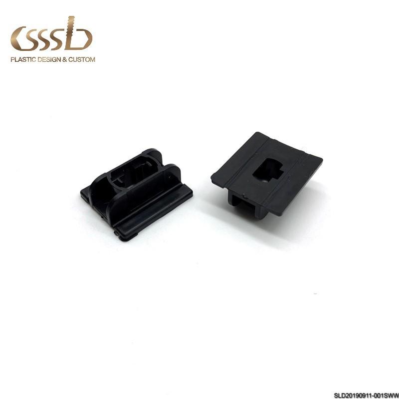 Customized colorsquareplastic endinjection accessory