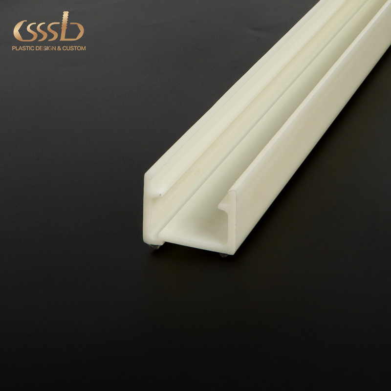 Tempered Glass TrayPLASTIC ABS TPU Co-extrusion ProfileInstall Table Profile to protect glass