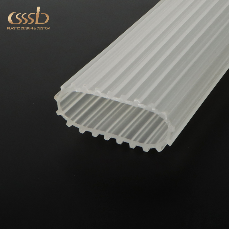 Clear PC extruded channel for led strip lights