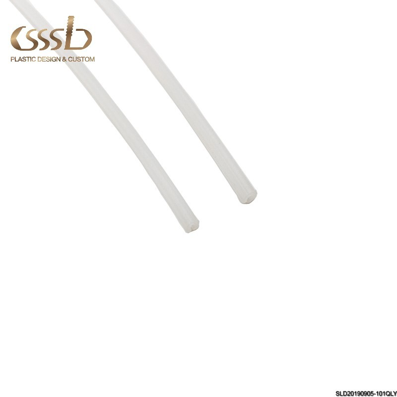 Extrusion Glass Plastic Strips HDPE Protective Strip